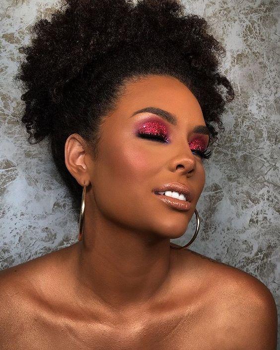 Maquiagem para pele negra 2021