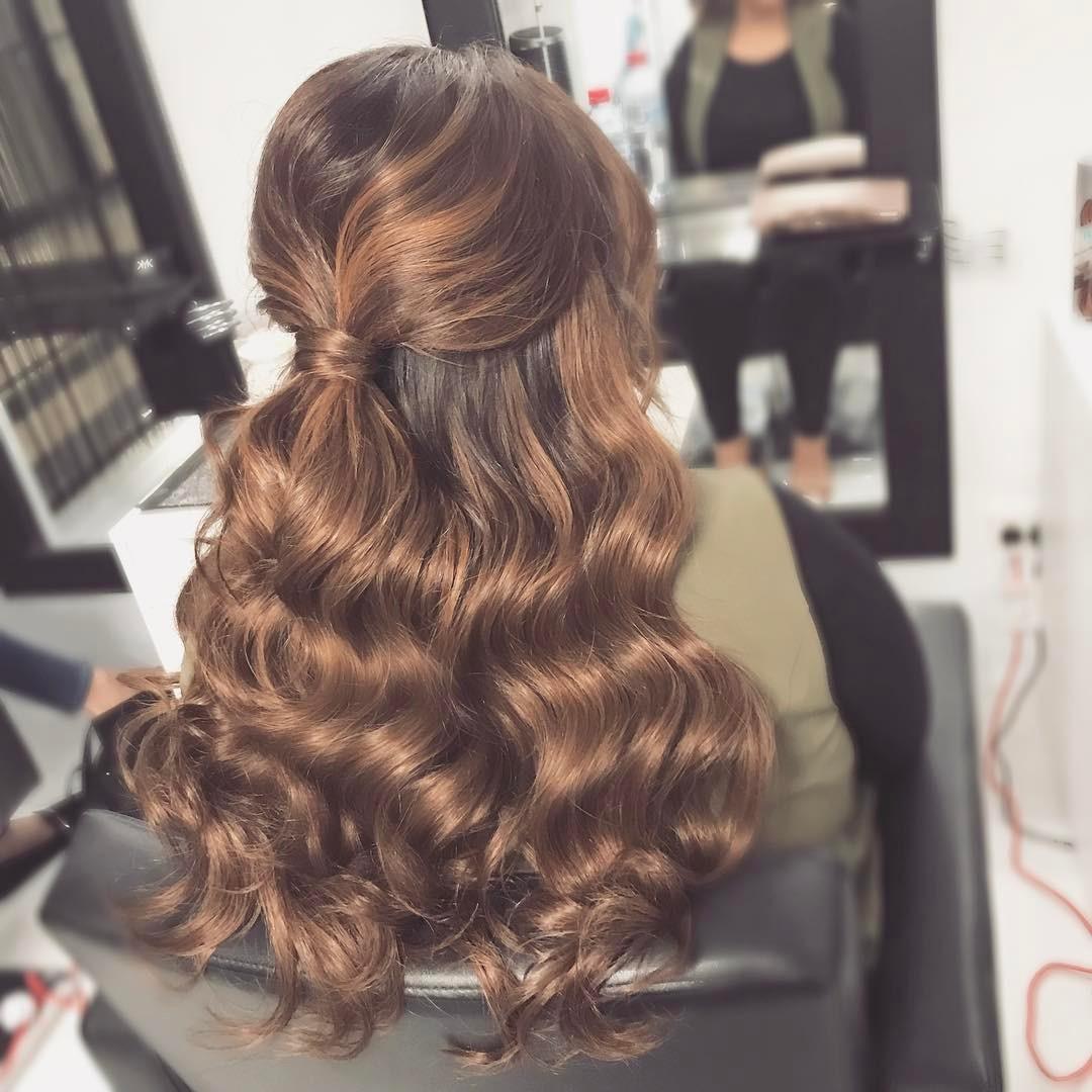 Penteados longos para Madrinha