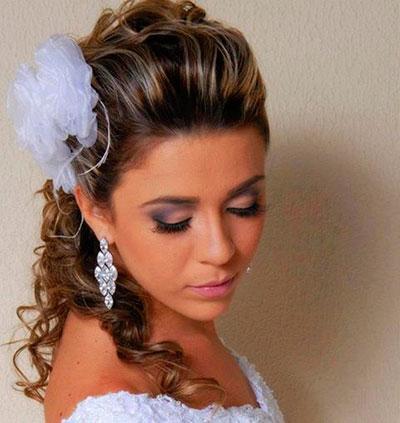 penteado clássico casamento