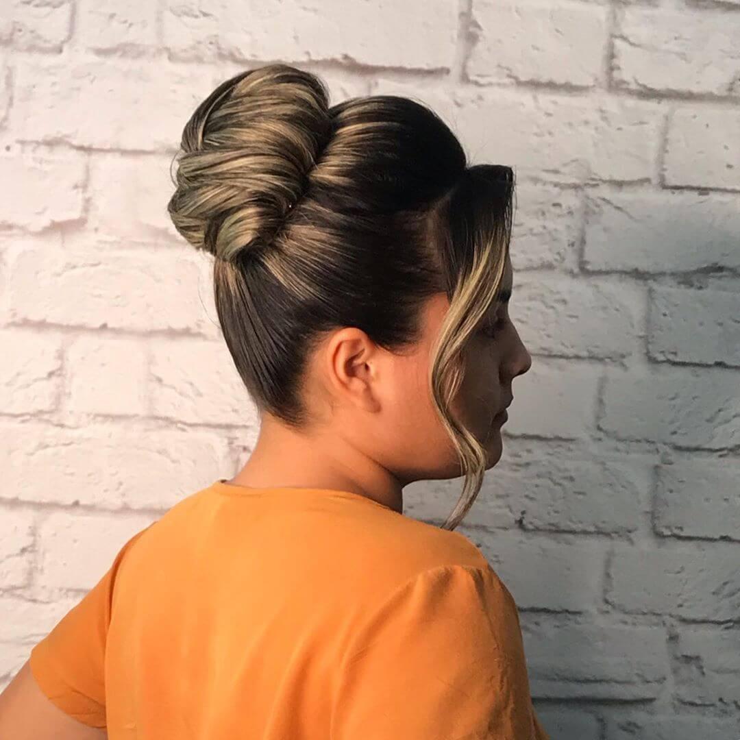 Penteados Presos para Formatura
