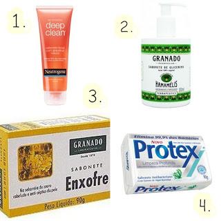 Sabonetes oil-free