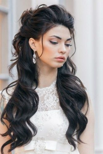 Penteado para Noiva Longo