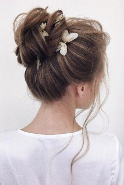 Penteado para noiva Preso