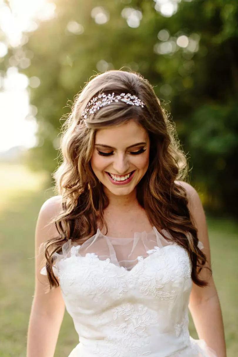Penteado para Noiva Solto