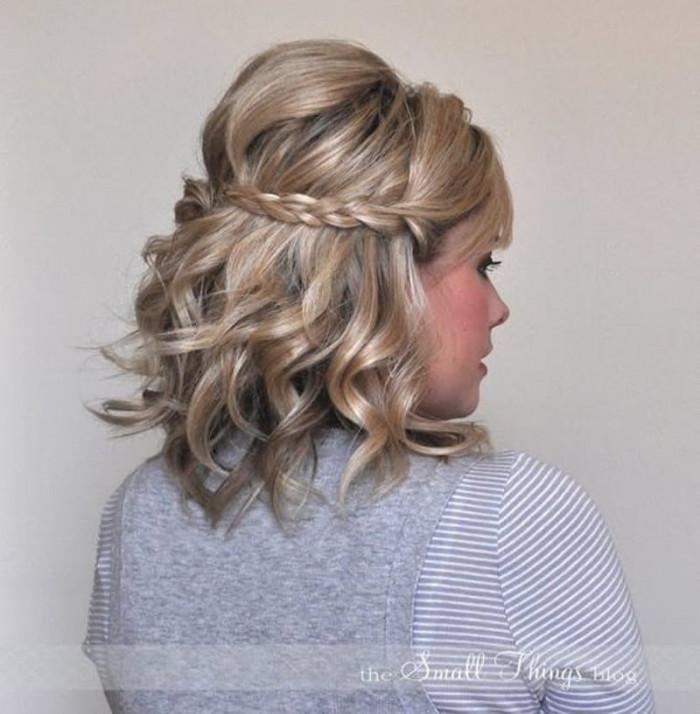 Penteados para festa com cabelo solto