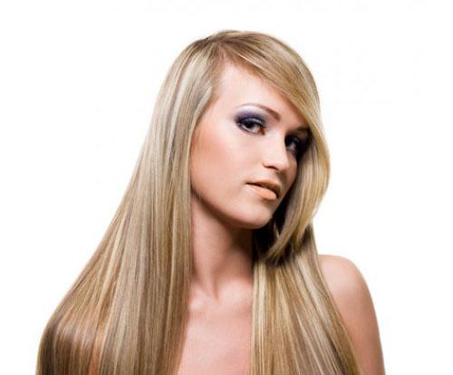 Reconstrução capilar cabelos lisos