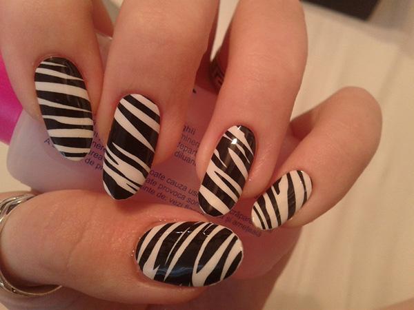 Adesivo para unhas decoradas estampa zebra
