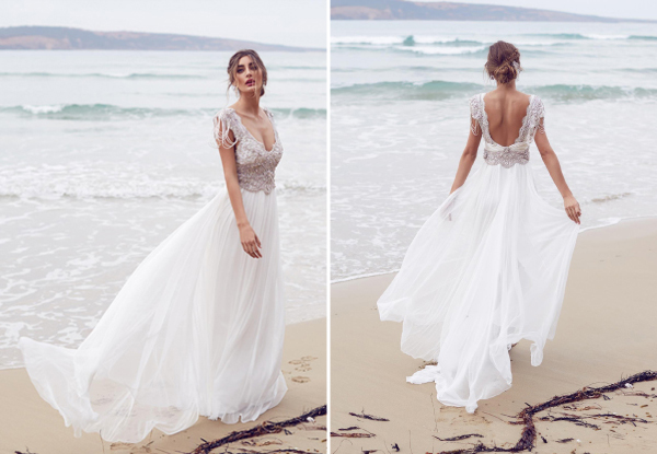 Vestido para Noiva na Praia