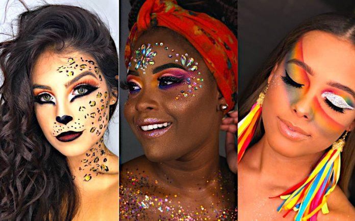 Maquiagem para Carnaval 2021