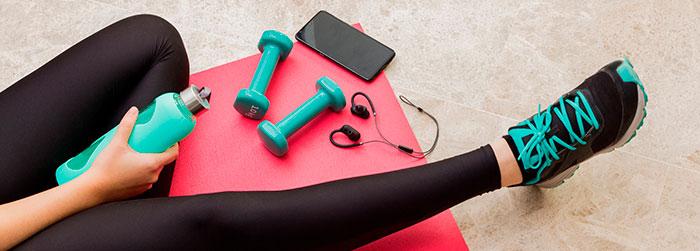 Kit de atividades físicas