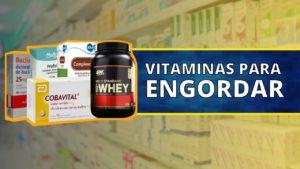Melhor Vitamina para Engordar